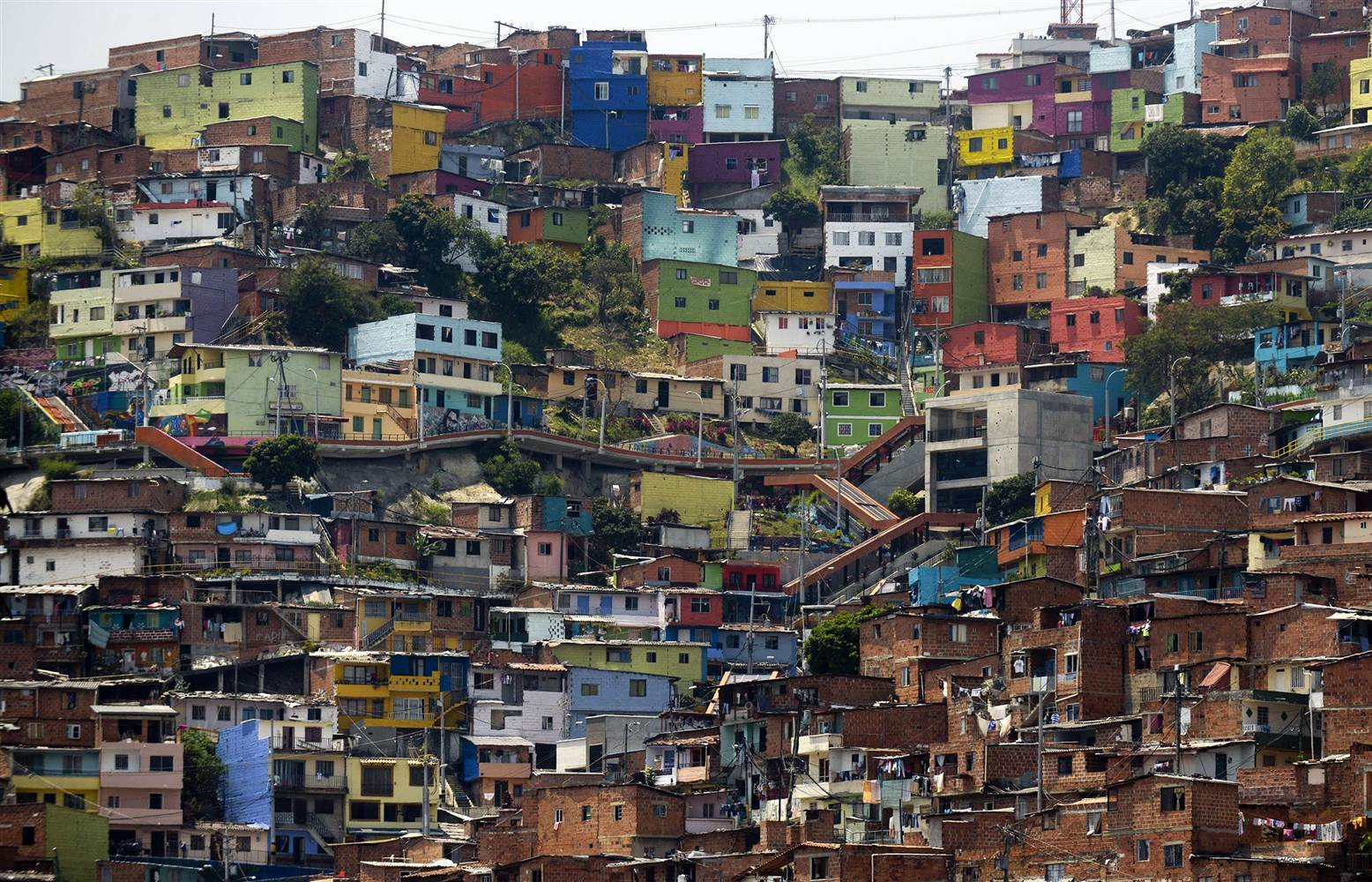 Medellín ranks third among the 10 most densely populated cities in the world