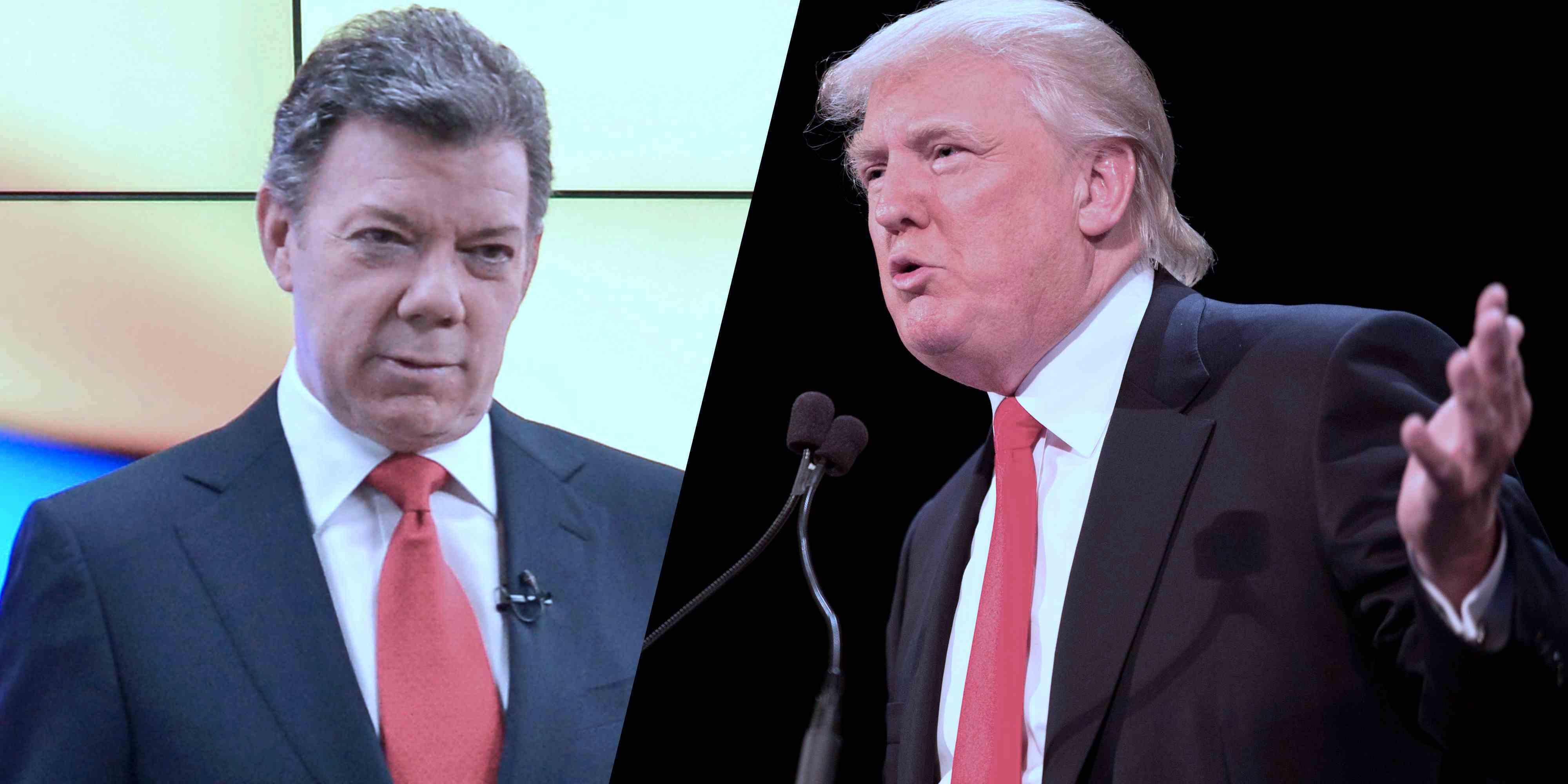 Trump and Santos