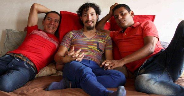 Manuel, Victor and Alejandro