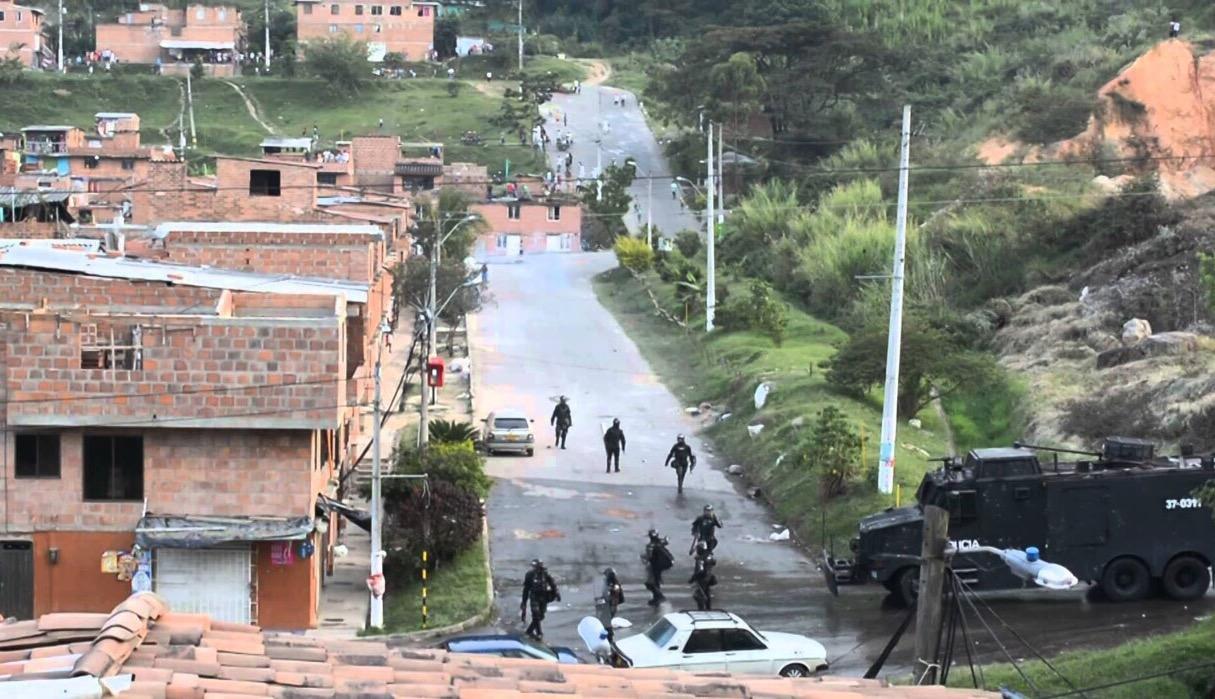 Medellin's Altavista neighborhood