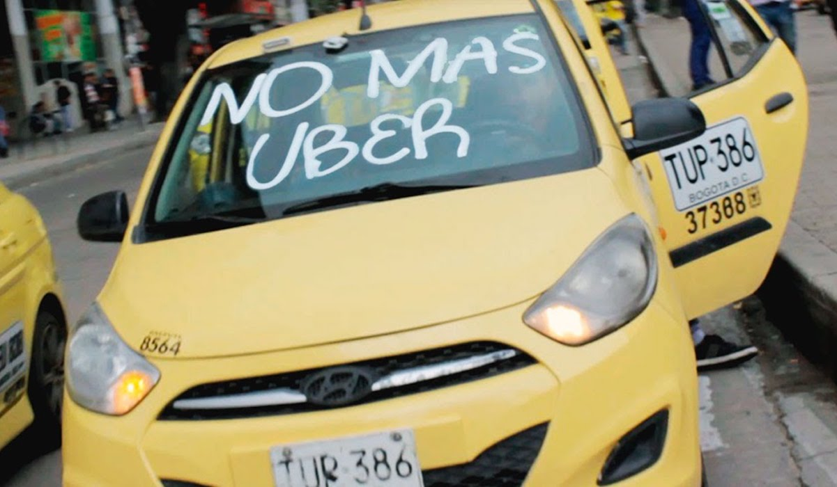 Taxis vs Uber