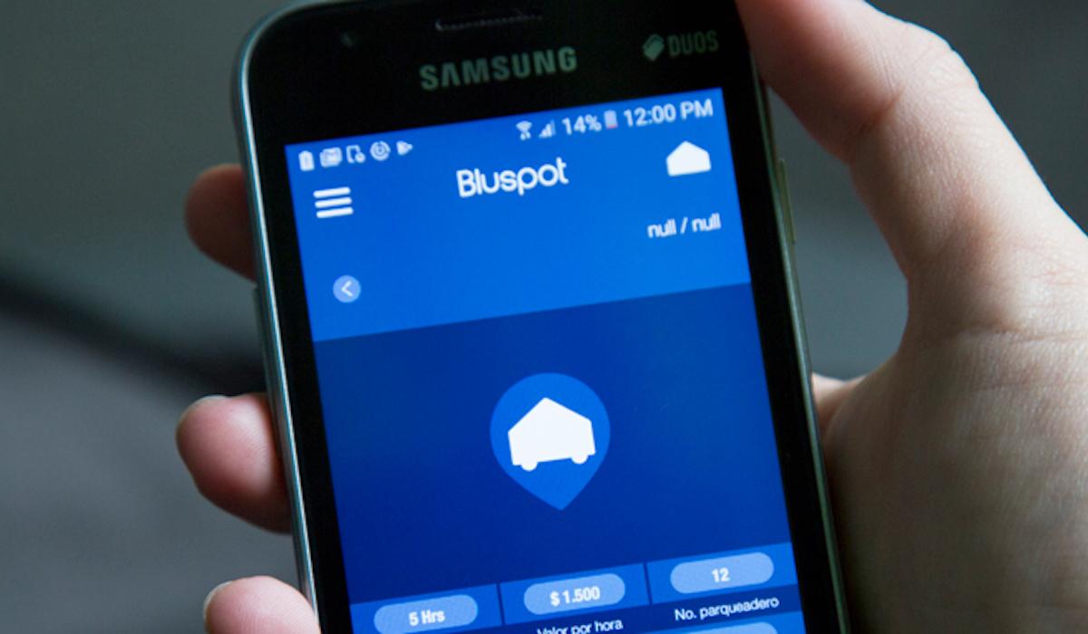 Bluespot app