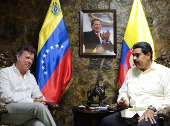 Santos should beg on his knees - Maduro