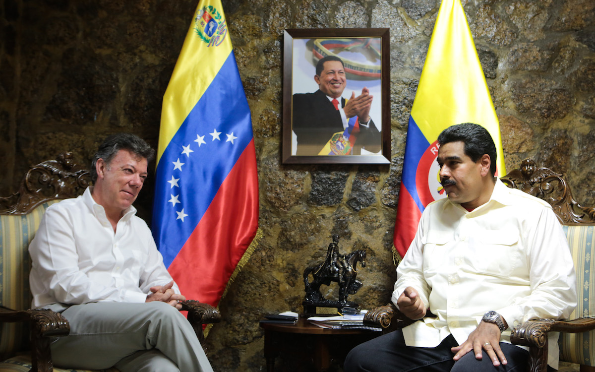 Santos should beg on his knees - Maduro