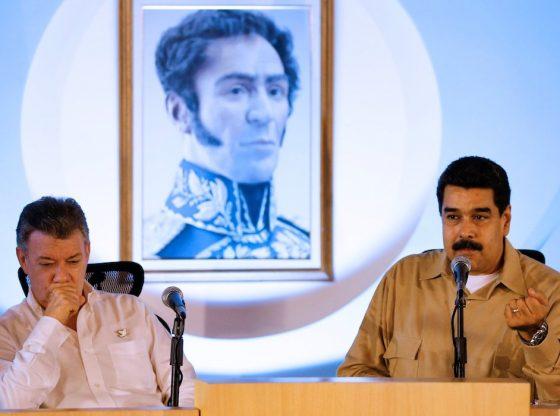 Maduro is Santos' father?