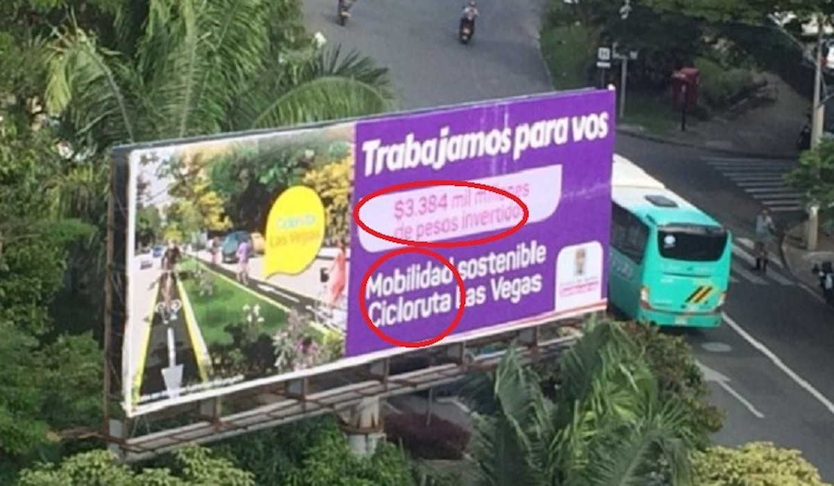 Wave of misspellings in Medellín's government advertisements causes stir on social media