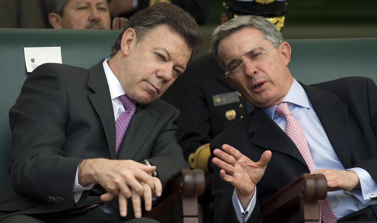 Santos and Uribe