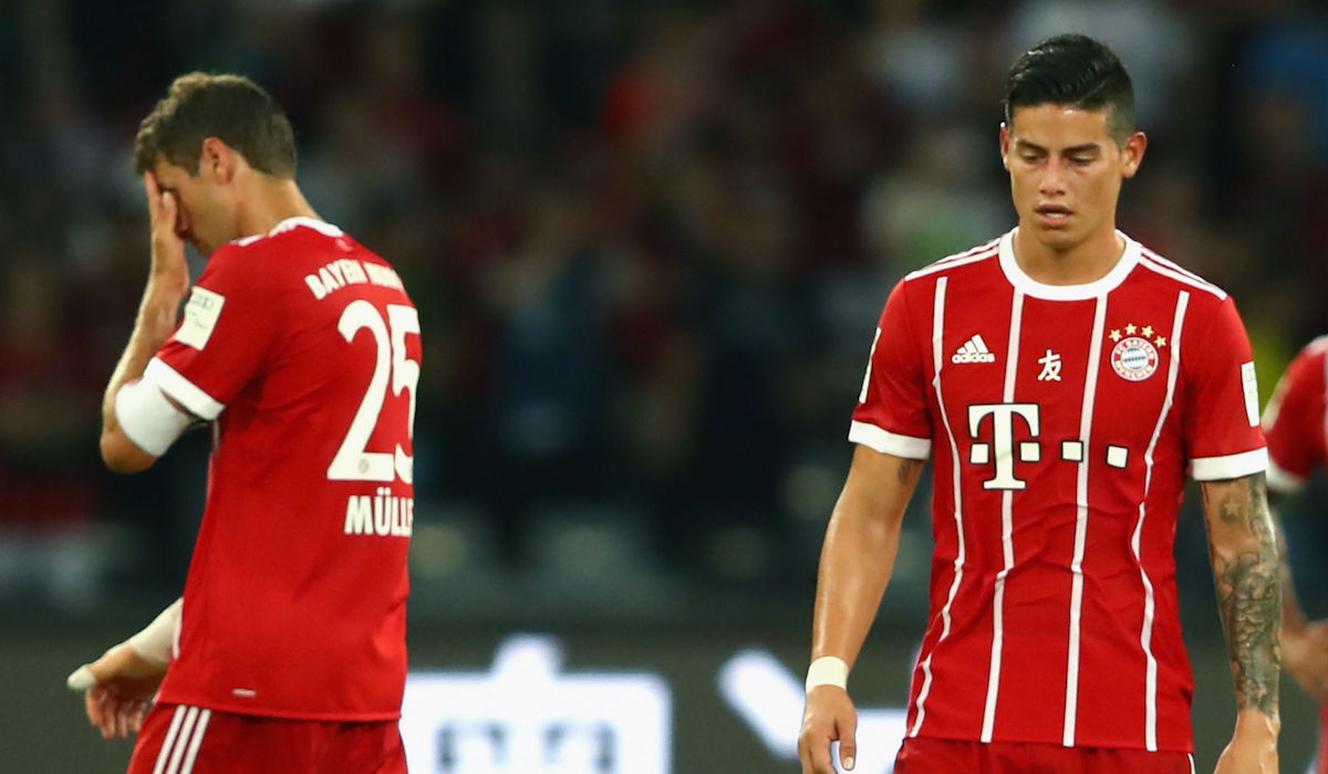 Muller and Rodriguez frustrated