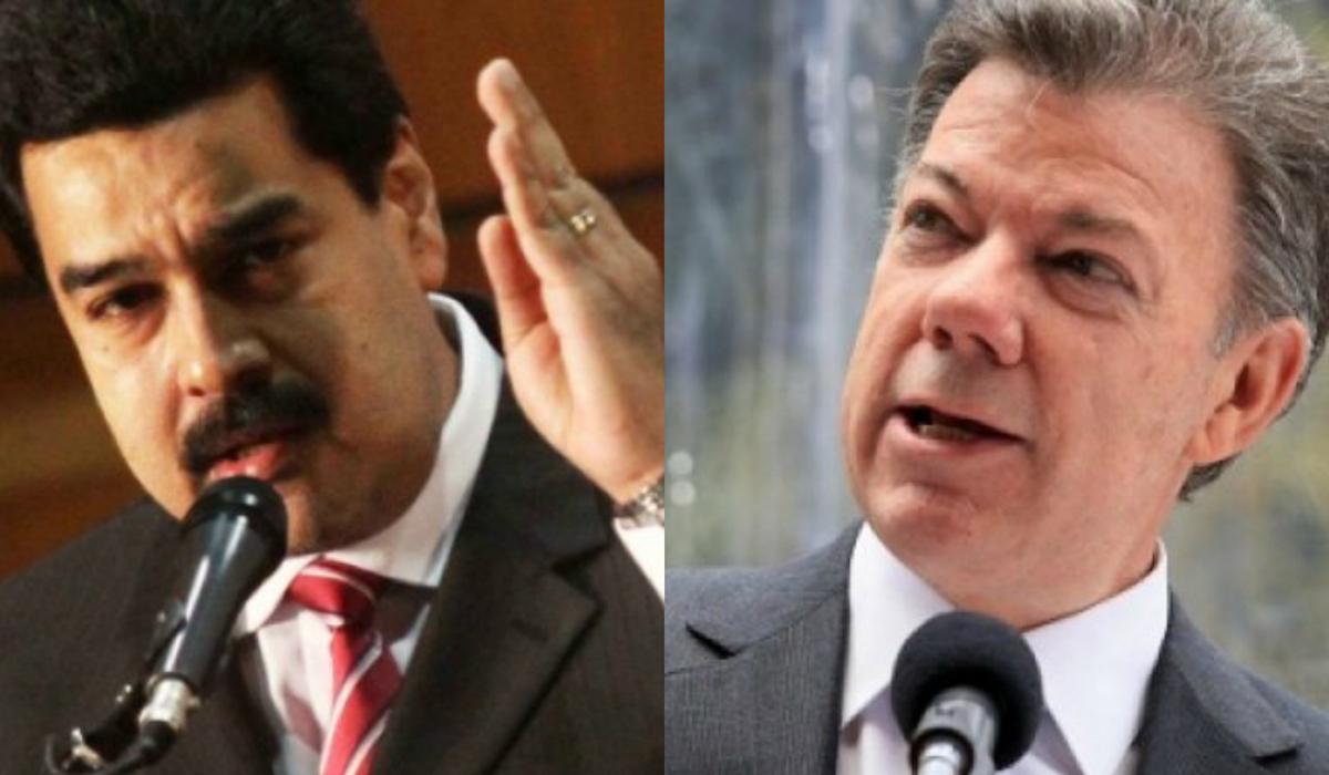 Maduro and Santos