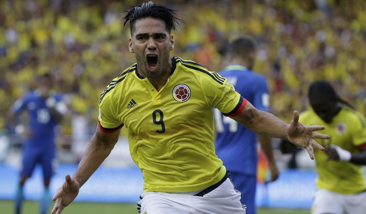 Colombia tie Brazil 1-1, fall to third in CONMEBOL World Cup qualifying