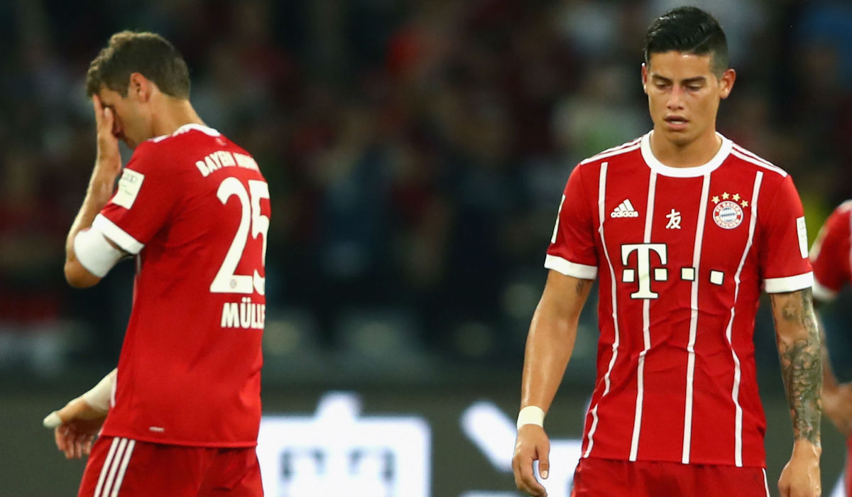 Is this the beginning of the end for James Rodríguez at Bayern Munich?