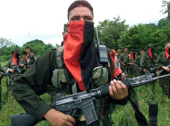 An ELN fighter