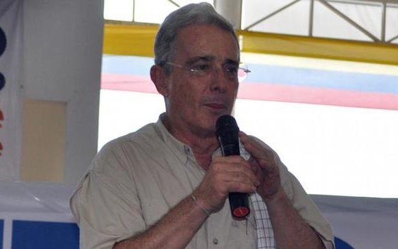 Alvaro Uribe in Sucre
