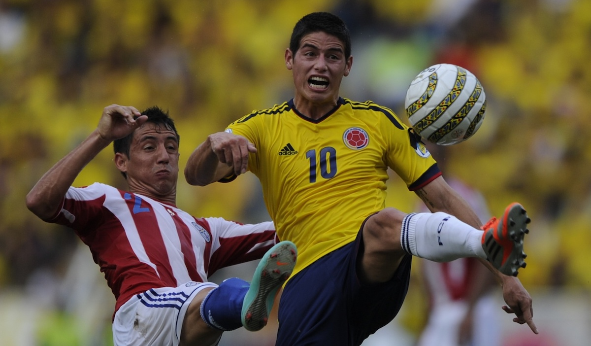 Colombia falls to Paraguay 2-1 with two unanswered goals in the final 3 minutes