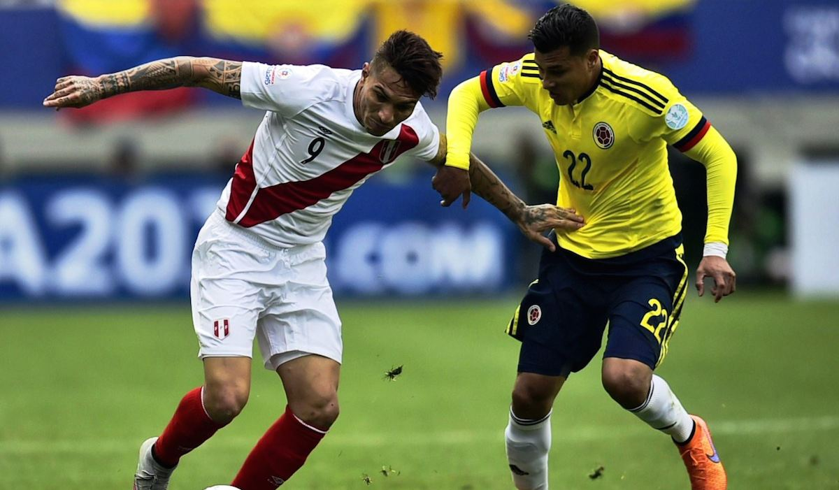 It's all on the line for Colombia against Peru on Tuesday