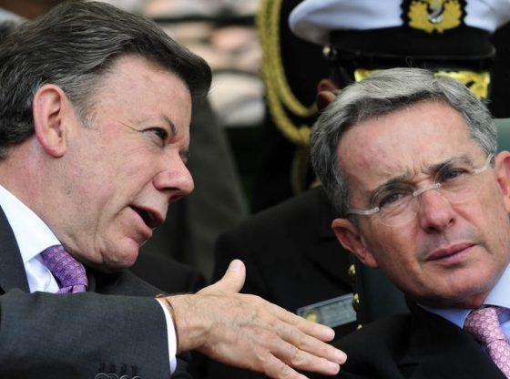 Uribe and Santos