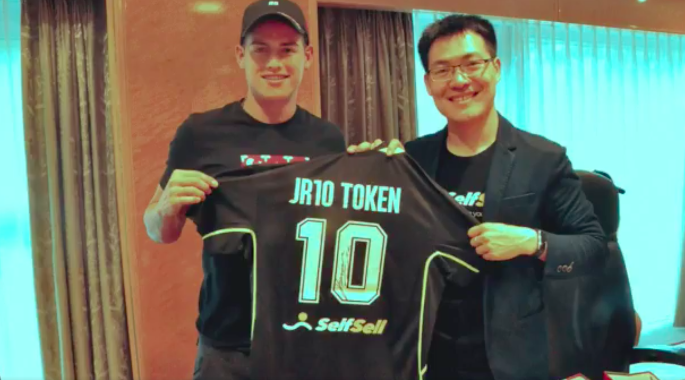 James Rodríguez becomes first footballer to launch cryptocurrency