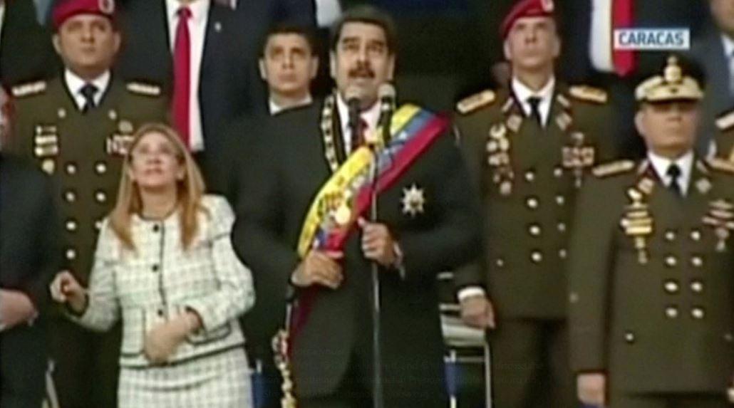 Maduro Assassination Attempt Drone