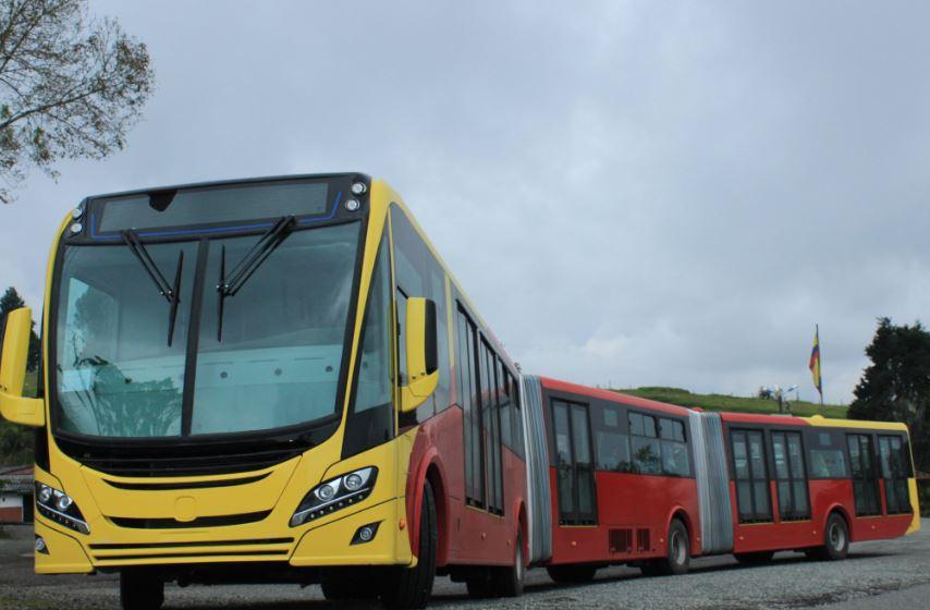Bogota Transmilenio New Fleet Environment
